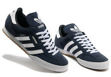 Adidas Originals Mens Samba Super Suede Size 7-12 Trainers Shoes Casual Blue