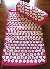 Back and Neck Pain Relief - Muscle relaxer - Acupressure Mat and Pillow set