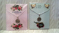 """INSPIRATIONAL QUOTES NECKLACES 24"""" silver plated chain * NEVER GIVE UP * DREAM *"""