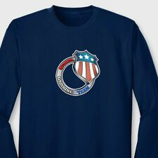 USA Drinking Team Funny Beer Patriotic T-shirt College Humor Long Sleeve Tee