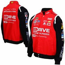 2015 Nascar  Jeff Gordon AARP Drive to End Hunger Cotton Jacket JH Free Shipping