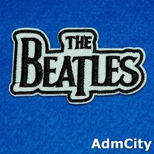 Beatles Uk Iron on Sew Embroidered Badge Patch Biker Rock Punk Britain Applique