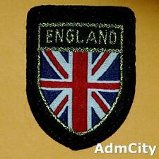 1 Union Jack Britain Uk Flag Sew on Embroidered Badge Patch Sew Biker England