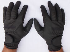 HORSE RIDING GLOVES SYNTHETIC LEATHER SERENO EXTRA COMFORTABLE PIMPLE GRIP