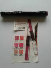 AVON EXTRA LASTING PLUMP & STAY LIP COLOUR ~ 6 LOVELY COLOURS  NEW & SEALED