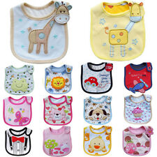 Baby Boy Girl Newborn Kids Bibs Waterproof Saliva Towel Bib Feeding Bandana