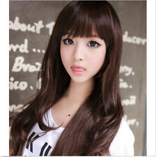 Fashion Womens New Long Wavy Curly Party Wig Sexy LADY Full Cosplay Hair Wig+CAP