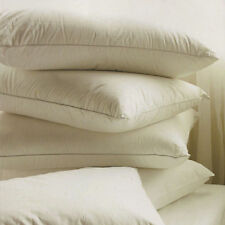 2x Duck Feather & Down Pillow Hotel Quality Comfortable With Extra Filling