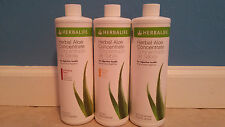 HERBALIFE HERBAL ALOE CONCENTRATE. 3 FLAVORS AVAILABLE. FREE SHIPPING!!