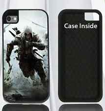 Hard Case for iPhone 4 4s 5 5s & 6 Assassin's Creed 3 VIDEO GAME