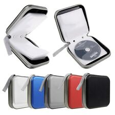 40 Discs CD DVD Portable Wallet DJ Storage Organizer Holder Case Bag Album Box