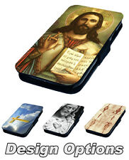 Jesus Inspired Designs Printed Faux Leather Flip Phone Cover Case