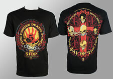 Authentic FIVE FINGER DEATH PUNCH Day Of The Fist T-Shirt S M L XL XXL NEW