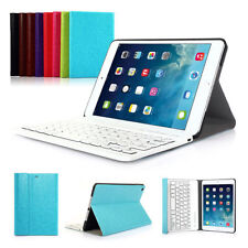 Slim ABS Keyboard Wireless Bluetooth case cover With Stand For ipad Mini 1 2 3