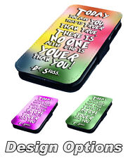 Youer Than You Printed Faux Leather Flip Phone Cover Case Dr. Seuss Inspired