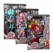 Monster High Frights Camera Action Dolls F963
