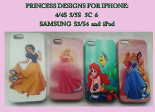 DISNEY PRINCESS WHITE SNOW,AURORA -PHONE CASE FULL WRAP - IPHONE,IPOD,SAMSUNG