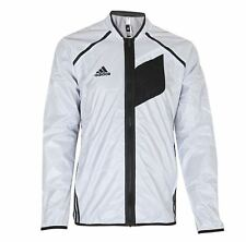 Mens Rare Adidas Crazy Ghost Full Zip White/Black Training Warm Up Jacket G76492