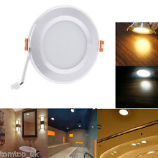 3W 5W 7W Round LED Recessed Ceiling Panel Down Light Fixture Bulb With Driver