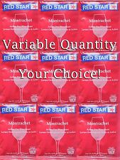 You Pick 1 - 10 Packs Red Star Montrachet Dry Wine Yeast - 5g pack - Home Making