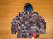NWT Boys The North Face Printed Resolve Jacket ( Retail $75.00 )