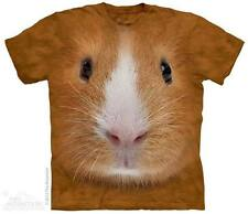 THE MOUNTAIN GUINEA PIG FACE PET ANIMAL NATURE WILD CAGE T TEE SHIRT S-5XL