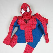 Boys Kids Superhero Muscle Spiderman Fancy Dress Outfit Costume Age 2-7 Years