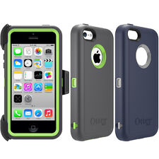 NEW! OtterBox Defender Series Case for Apple iPhone 5C Cover & Belt Clip Holster