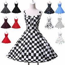 Vintage Style 1950s 50's GRAD Dress Rockabilly Swing Prom Party Cocktail Dresses