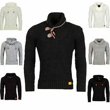 Trendy modern YOUNG RICH Pullover airy Knitted Pullover Hoody