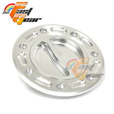 TFG CNC Billet SI Gas Fuel Petrol Cap For Kawasaki ZRX 1100 1999-2004