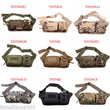 2015 Military Hiking Climb Tactical Fanny Pack Waist Belt Bag Bumbag Hip Pack