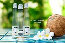100% ORGANIC COCONUT OIL EXTRA VIRGIN PURE COLD PRESSED FOR EAT HAIR SKIN CARE