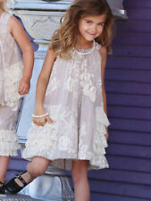 Isobella & Chloe Taupe & Ecru Party Dress Spring Summer NEW Size 4-14 $52-$56