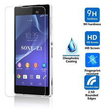 100% Explosion proof Tempered Glass Film Guard Screen Protector For Sony Phone