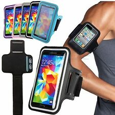 For Samsung Galaxy S5/S4 Active Sports Fitness Running Gym Armband Case Cover