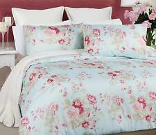 Rose Floral DAYDREAM 3 Pce  Quilt / Doona Cover Set Queen or King Size NEW