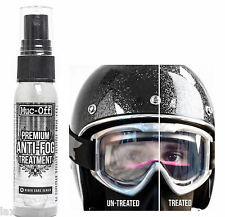 Muc-Off Bio Motorcycle Bike Premium Anti-Fog Visor Treatment 35ml Anti- Static