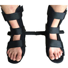 Medical Foot Ankle Orthosis Adjustable Walking Boot Support Drop Sprain Ligament