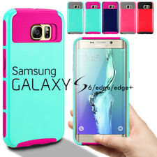 PC Shockproof Dirt Dust Proof Hard Matte Cover Case For Samsung Galaxy S6 & edge