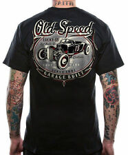 LUCKY 13 OLD CUSTOM SPEED HOT ROD   ROCKABILLY CAR T SHIRT GOTH