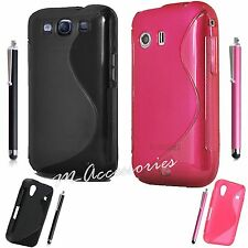 S-LINE SILICONE RUBBER GRIP GEL CLIP ON CASE COVER SKIN FOR NEW MOBILE PHONES