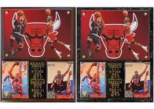 Derrick Rose #1 Michael Jordan #23 NBA MVP's Chicago Bulls Photo Card Plaque