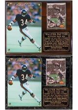 Walter Payton #34 Chicago Bears Hall Of Fame Sweetness Photo Card Plaque SBXX