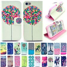 PU Leather New Cute Patterned Magnetic Flip Wallet Case Cover for iPhone Samsung