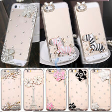 NEW Bling Crystal Diamond Rhinestone Clear Hard Case For iPhone 6 6 Plus4.7/ 5.5