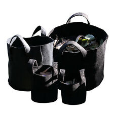 Fabric Grow Pots Breathable Bag Planters Size 1,2,3,5,7,10,15,20,25,30 Gallon