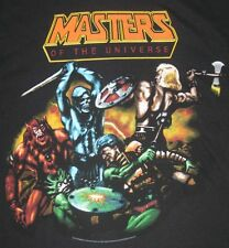 He Man Skeletor Masters Of The Universe T Shirt MOTU Mattel Adult Small