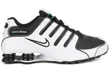 Nike Shox NZ 378341 103 New Mens White Black Athletic Running Lifestyle Shoes