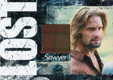 Lost Archives Limited Costume Relic Card Sawyer Ford Josh Holloway 042/375